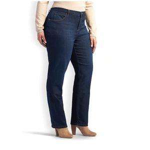 St John's Bay boot cut secretly slender denim jean